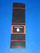 NOS THROTTLE decal - game unknown