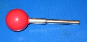"NOS Wico red ball joystick shaft, 3 7/8"" long"