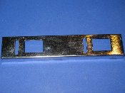 Coin Chute Chrome Bezel - USED