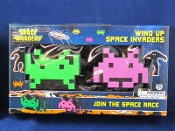 Space Invaders Wind Up Toy Set