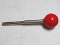 "NOS Wico red ball joystick shaft, 4 - 3/4"" long"