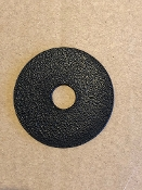 "Dust Disc for 1/4"" diameter shaft, Reproduction"